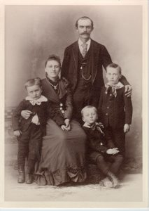 William H. Downing family